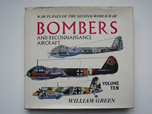 9780385085007: War Planes of the Second World War, Volume 10, Bombers & Reconnaissance Aircraft