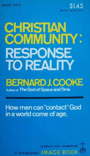 9780385085656: Christian Community: Response To Reality