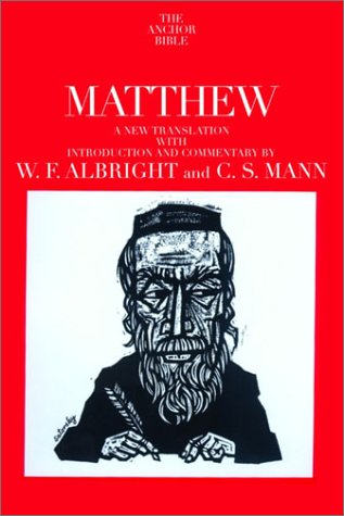 Matthew: A New Translation with Introduction and Commentary (The Anchor Bible, Vol. 26)