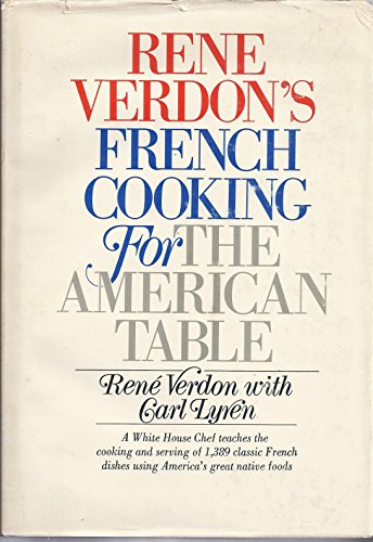 9780385087025: Rene Verdon's French Cooking for the American Table