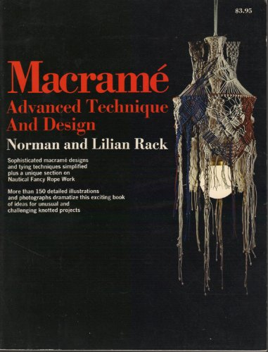 9780385087490: Macrame: Advanced Technique and Design