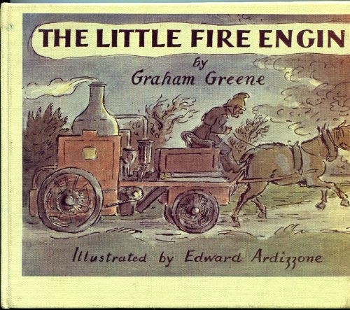 9780385089067: The little fire engine