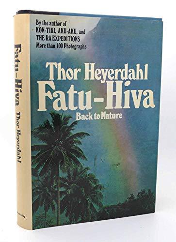 9780385089210: Fatu-Hiva: Back to Nature