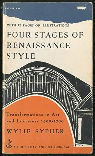 9780385092258: Four Stages of Renaissance Style