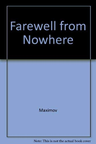9780385095693: Farewell from Nowhere