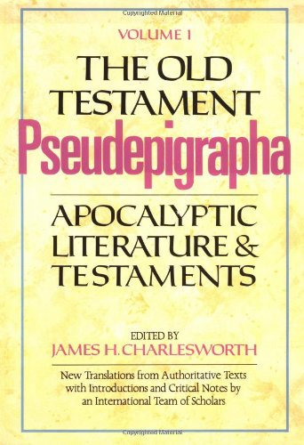 9780385096300: The Old Testament Pseudepigrapha, Vol. 1: Apocalyptic Literature and Testaments