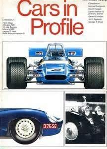 9780385096737: Cars in Profile. Collection 2: Facel Vega, McLaren M8. 4 1/2 litre Bentley. Matra MS80. Jaguar D-type. Rolls Royce Phantom II