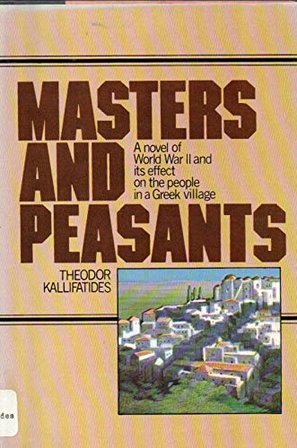 9780385099165: Masters and peasants