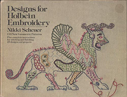 9780385110013: Designs for Holbein embroidery: 110 new geometric patterns