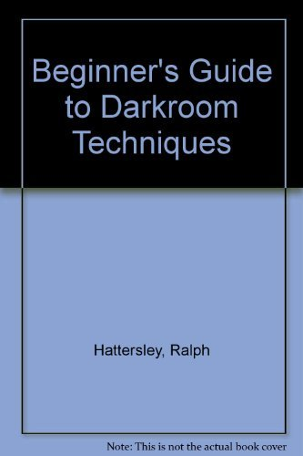 9780385110730: Beginners Guide to Darkroom Techniques