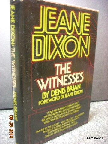 9780385112437: Jeane Dixon: The Witnesses