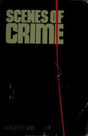 9780385114684: Scenes of Crime