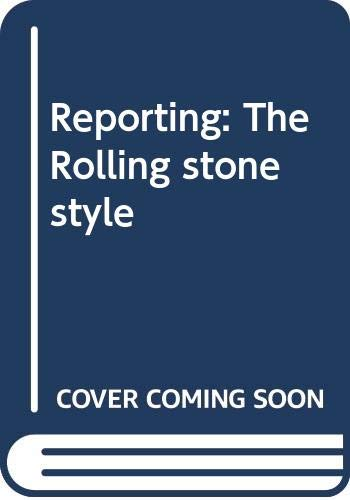 Reporting : The Rolling Stone Style: Paul Editor Scanlon