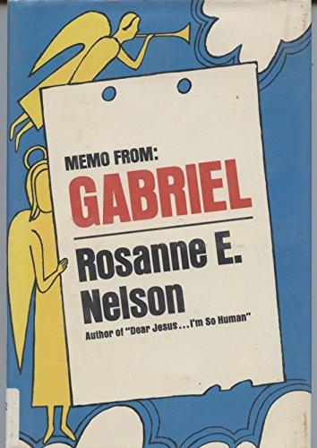 9780385114943: Memo from Gabriel
