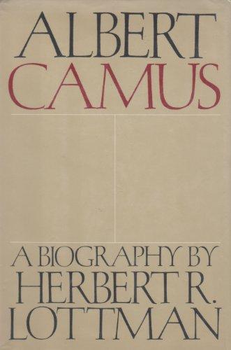 9780385116640: Albert Camus: A Biography