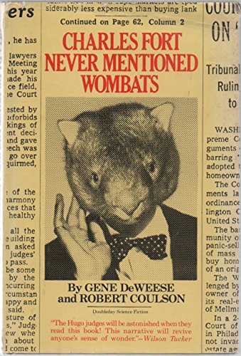 9780385121118: Charles Fort Never Mentioned Wombats (Doubleday science fiction)
