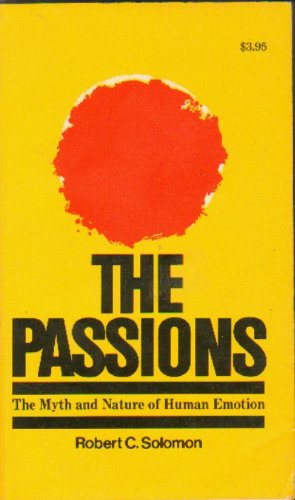 The Passions: Solomon, Professor Robert