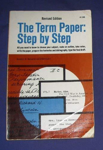 9780385123808: Term Paper