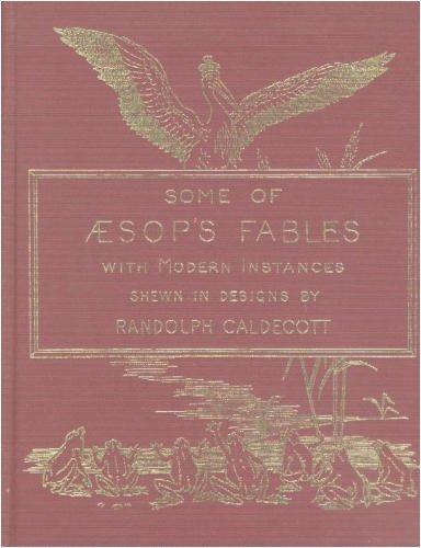 9780385126533: The Caldecott Aesop: Twenty Fables : A Facsimile of the 1883 Edition
