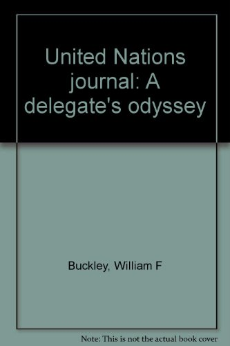 9780385126953: United Nations journal: A delegate's odyssey