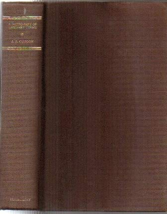 9780385127134: A dictionary of literary terms