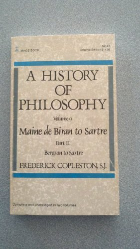 9780385129268: History of Philosophy, Volume 9, Part 2