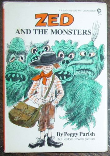 9780385129480: Zed and the Monsters (Reading-on-my-own)
