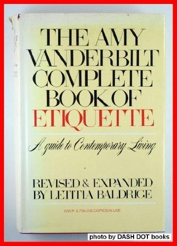 9780385133753: The Amy Vanderbilt Complete Book of Etiquette