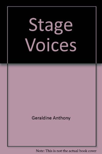 9780385135405: Stage Voices