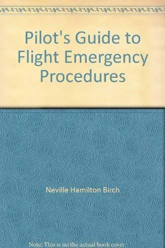 9780385135443: Pilot's Guide to Flight Emergency Procedures