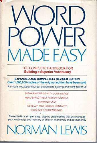 9780385140850: Word Power Made Easy: The Complete Handbook for Building a Superior Vocabulary