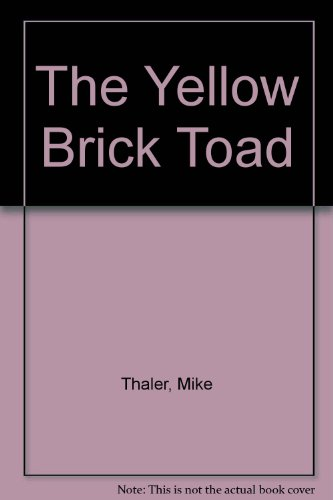 9780385142557: The Yellow Brick Toad