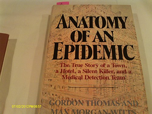 9780385143714 Anatomy Of An Epidemic Abebooks Max Morgan Witts