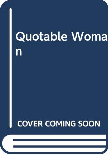 9780385145206: Quotable Woman: Eighteen Hundred on