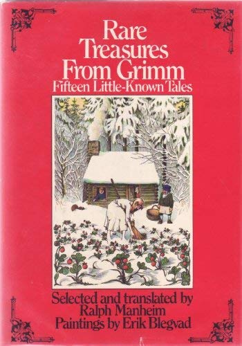9780385145480: Rare Treasures from Grimm: Fifteen Little-Known Tales