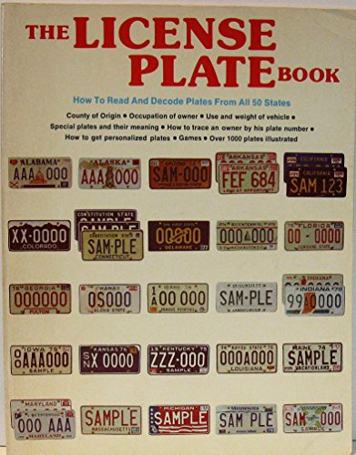 The License Plate Book