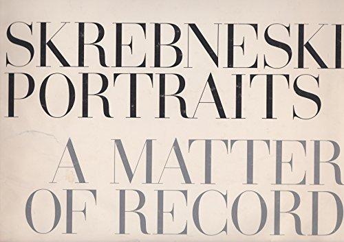 Skrebneski Portraits : a Matter of Record: Skrebneski, Victor
