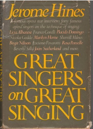 9780385146388: Great Singers on Great Singing