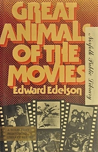 9780385147286: Great Animals of the Movies