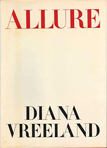 Allure: Vreeland, Diana; with