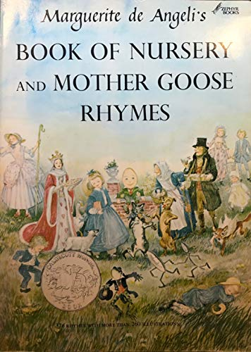 9780385152914: Marguerite de Angeli's Book of Nursery and Mother Goose Rhymes