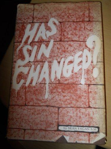 Has sin changed?: Fagan, Sean