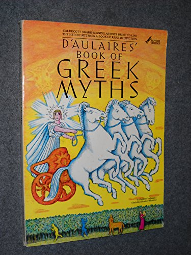 9780385157872: D'Aulaires' Book of Greek Myths