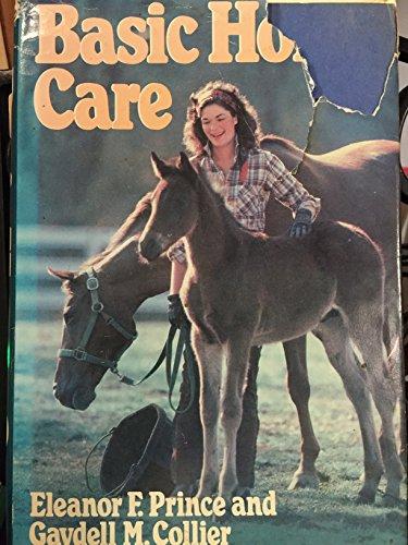 9780385172295: Basic Horse Care