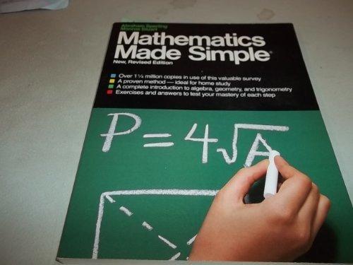 9780385174817: Mathematics Made Simple