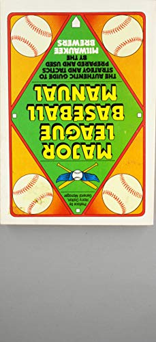 Major League Baseball Manual