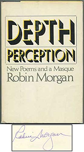 9780385177948: Depth perception: New poems and a masque