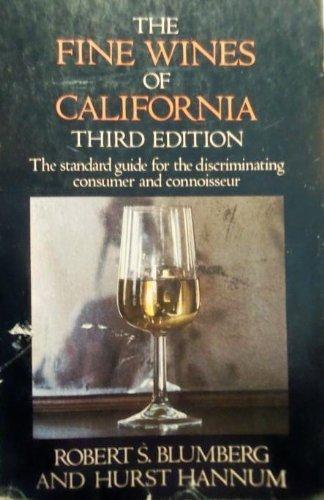 9780385179737: The fine wines of California