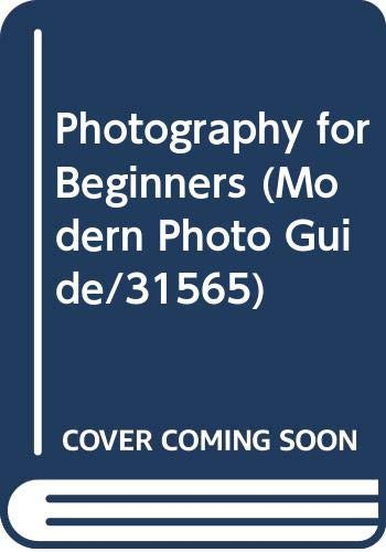 9780385181396: Photography for Beginners (Modern Photo Guide/31565)