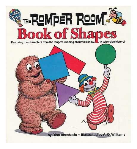 The Romper Room book of shapes: Anastasio, Dina